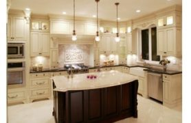 residential electrician-kitchen